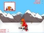 Gioco Babbo Natale Snowboard