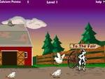 Gioca gratis a Scappa la mucca