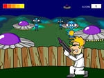 Gioca gratis a Arty Alien Shooter