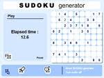 Gioca gratis a Sudoku Generator