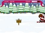 Gioca gratis a Santa Ski Jump