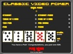 Gioca gratis a Classic Video Poker