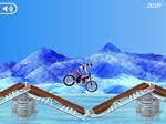 Gioca gratis a Motocross sui ghiacci