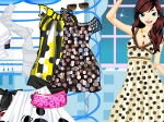 Gioca gratis a Dot Pattern Dress Up