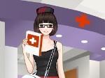 Gioca gratis a Vesti l'infermierina