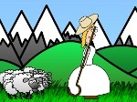 Gioca gratis a Little Bo Peep's Sheep Toss