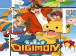 Gioca gratis a Il puzzle dei Digimon