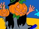 Gioca gratis a Jack-O-Lantern Halloween Coloring Game