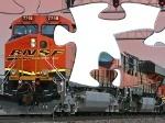 Gioco Il puzzle del treno
