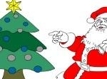 Gioca gratis a Colora Babbo Natale