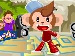 Gioca gratis a La scimmia ballerina