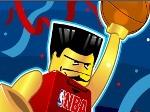Gioca gratis a Lego sports Basketball Challenge