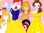 Gioca gratis a Vesti le principesse Disney