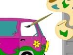 Gioca gratis a Dipingi il furgoncino