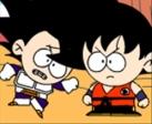Gioca gratis a Vegeta contro Goku
