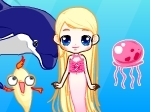 Gioco Barbie Mermaid