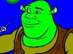 Gioca gratis a Colora Shrek