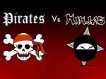 Gioca gratis a Pirati contro Ninja