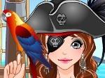 Gioco Vestire la ragazza pirata