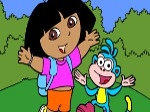 Gioca gratis a Colorare Dora