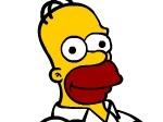 Gioca gratis a Cambia colore a Homer