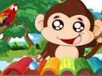 Gioco Scimmia musicista