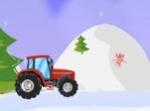 Gioca gratis a Christmas Tractor Race