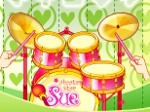 Gioco Sue alla batteria