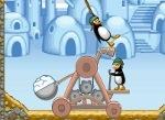 Gioca gratis a Catapulta Pinguini