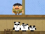 Gioca gratis a I tre panda