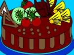 Gioco Torta da colorare