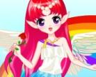 Gioca gratis a Vestire la fata arcobaleno