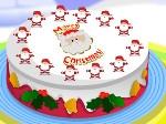 Gioca gratis a Decora la torta di Natale