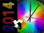 Gioca gratis a Puzzle del nuovo anno 2014