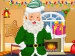 Gioca gratis a Vestire Babbo Natale