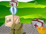 Gioco Rifornimenti per i paracadutisti