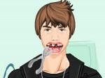 Gioca gratis a Justin Bieber va dal densista