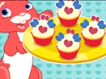Gioco Cute Heart Cupcakes