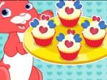 Gioca gratis a Cute Heart Cupcakes
