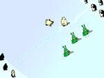 Gioco Pallate di neve con gli alieni