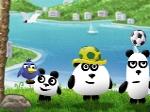Gioca gratis a Tre panda in Brasile