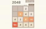 Gioco 2048