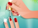 Gioca gratis a Nail Studio: Beach Design