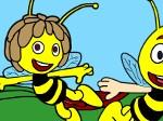 Gioca gratis a Colorare l'ape Maya