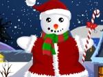 Gioca gratis a Vesti il pupazzo di neve di Natale