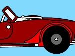 Gioca gratis a Colora l'auto sportiva