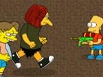 Gioca gratis a I Simpson: guerra d'acqua
