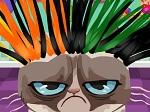 Gioca gratis a Pettinare Grumpy Cat