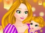 Gioca gratis a Il bebè di Rapunzel
