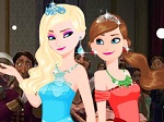 Gioca gratis a Frozen Prom Party